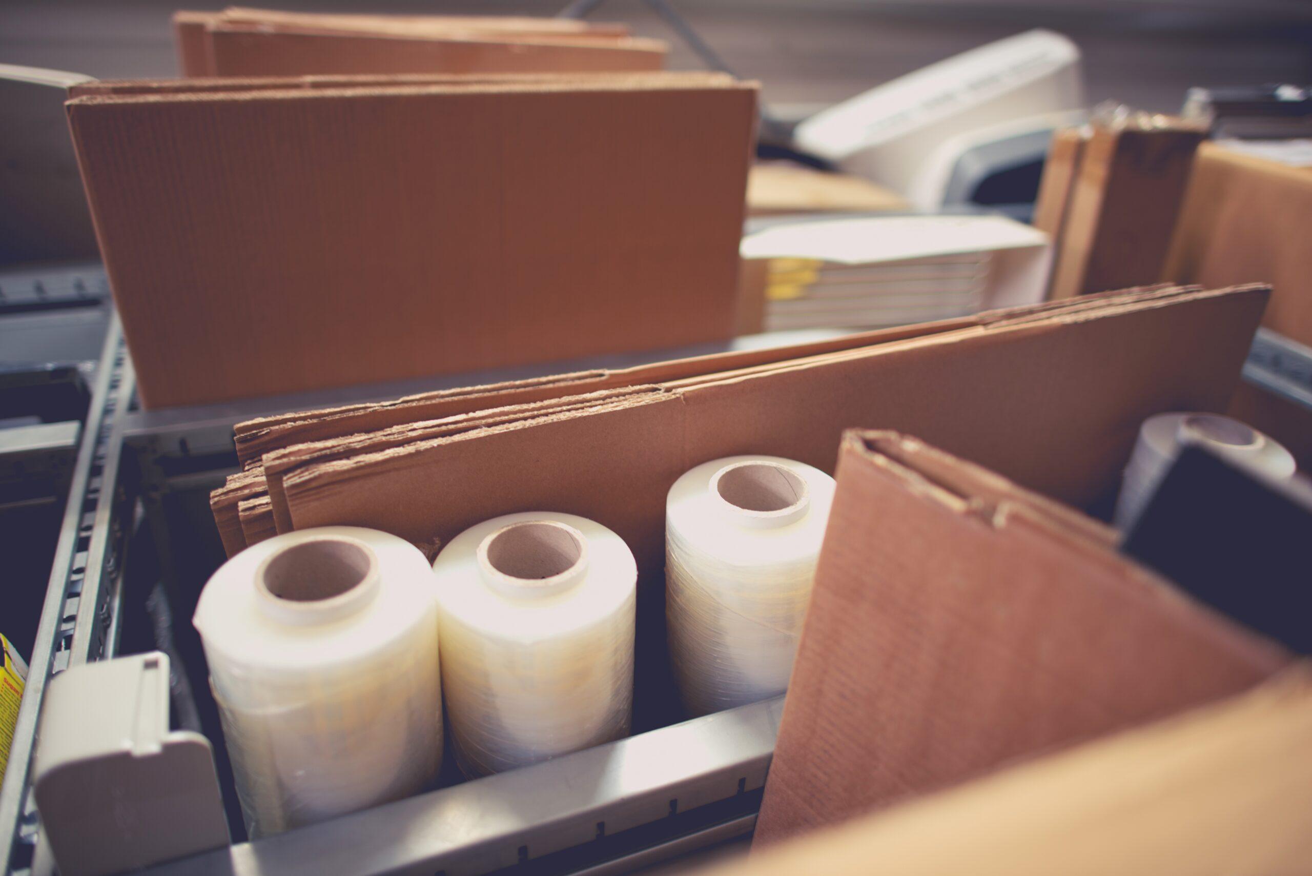 Accessoires et matériaux d'emballage