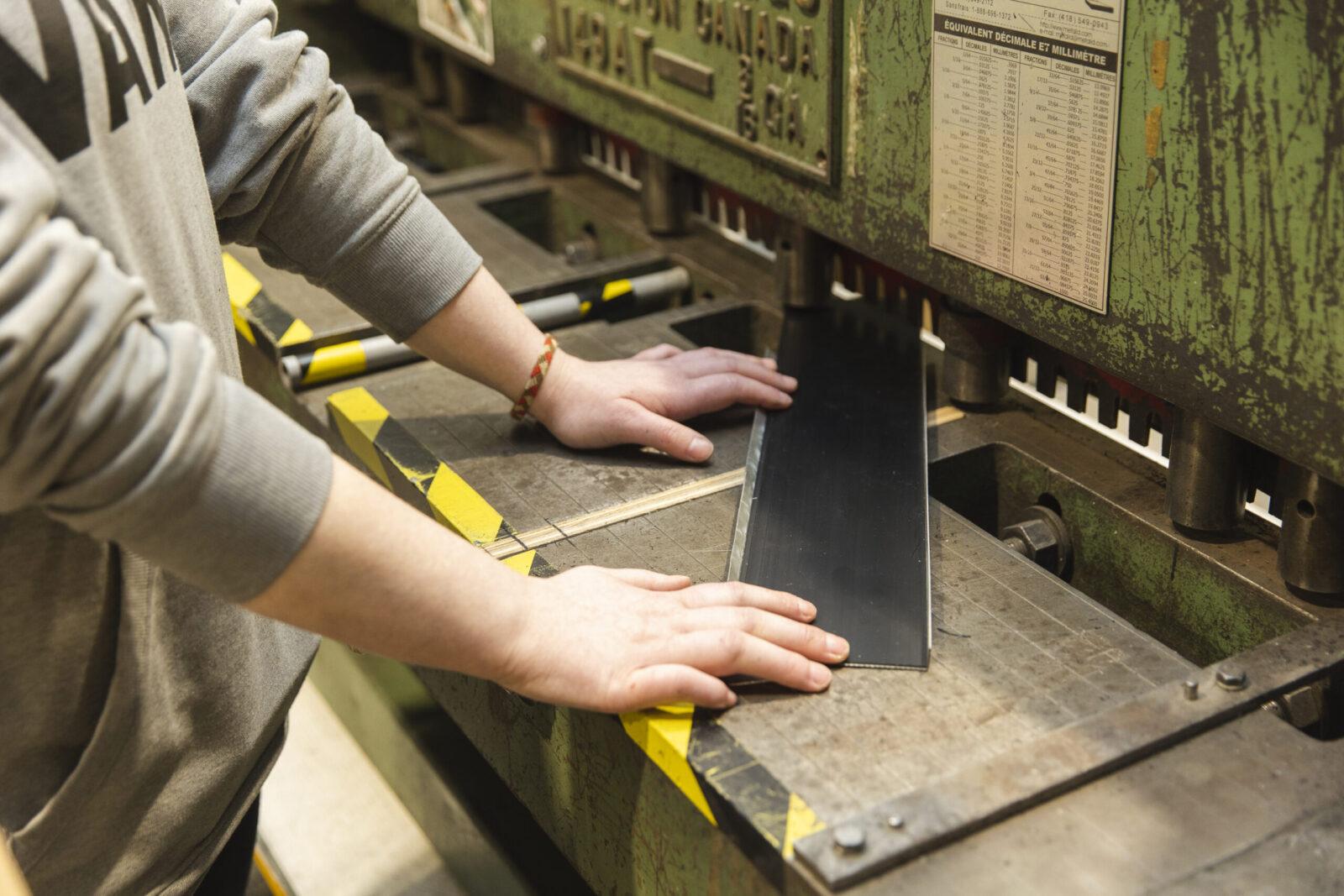 Production et transformation, Atelier des Vieilles Forges