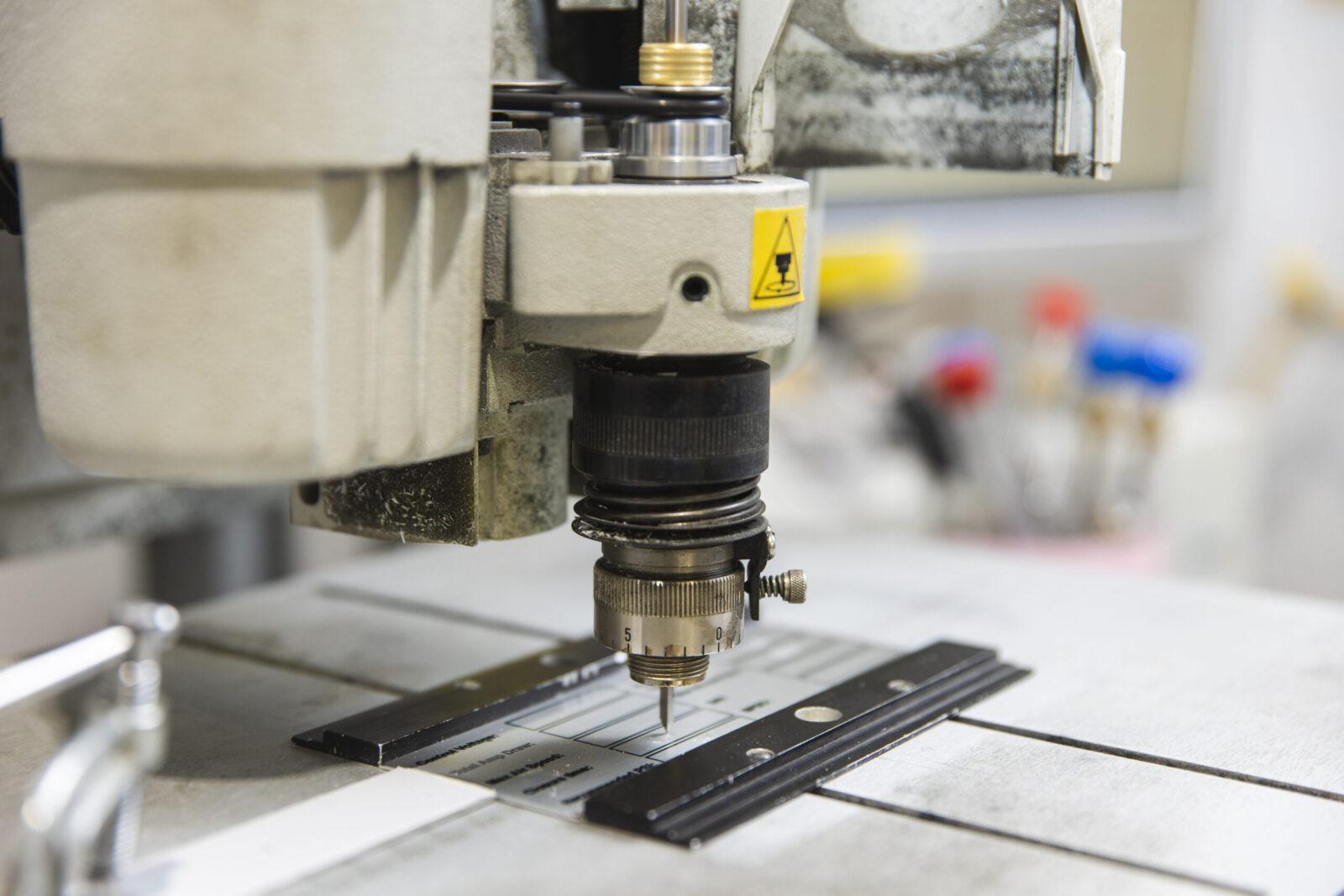 Gravure rotative, Production et transformation, Atelier des Vieilles Forges