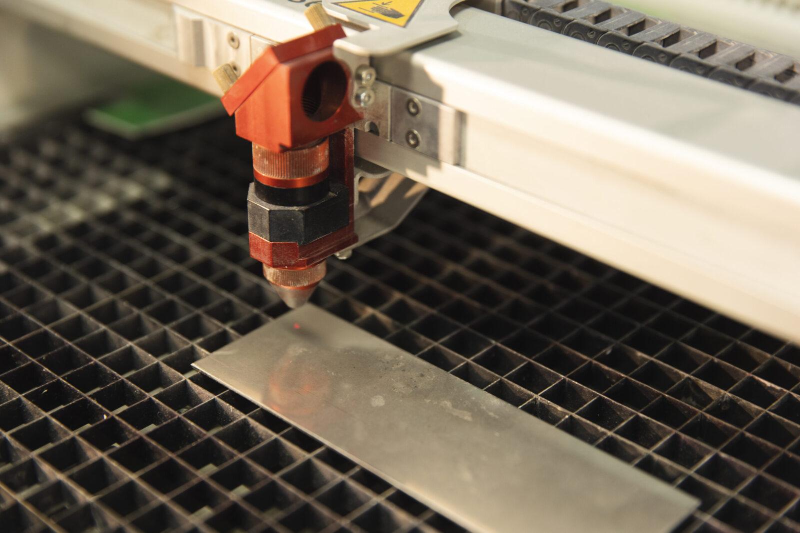 Opération laser, Production et transformation, Atelier des Vieilles Forges