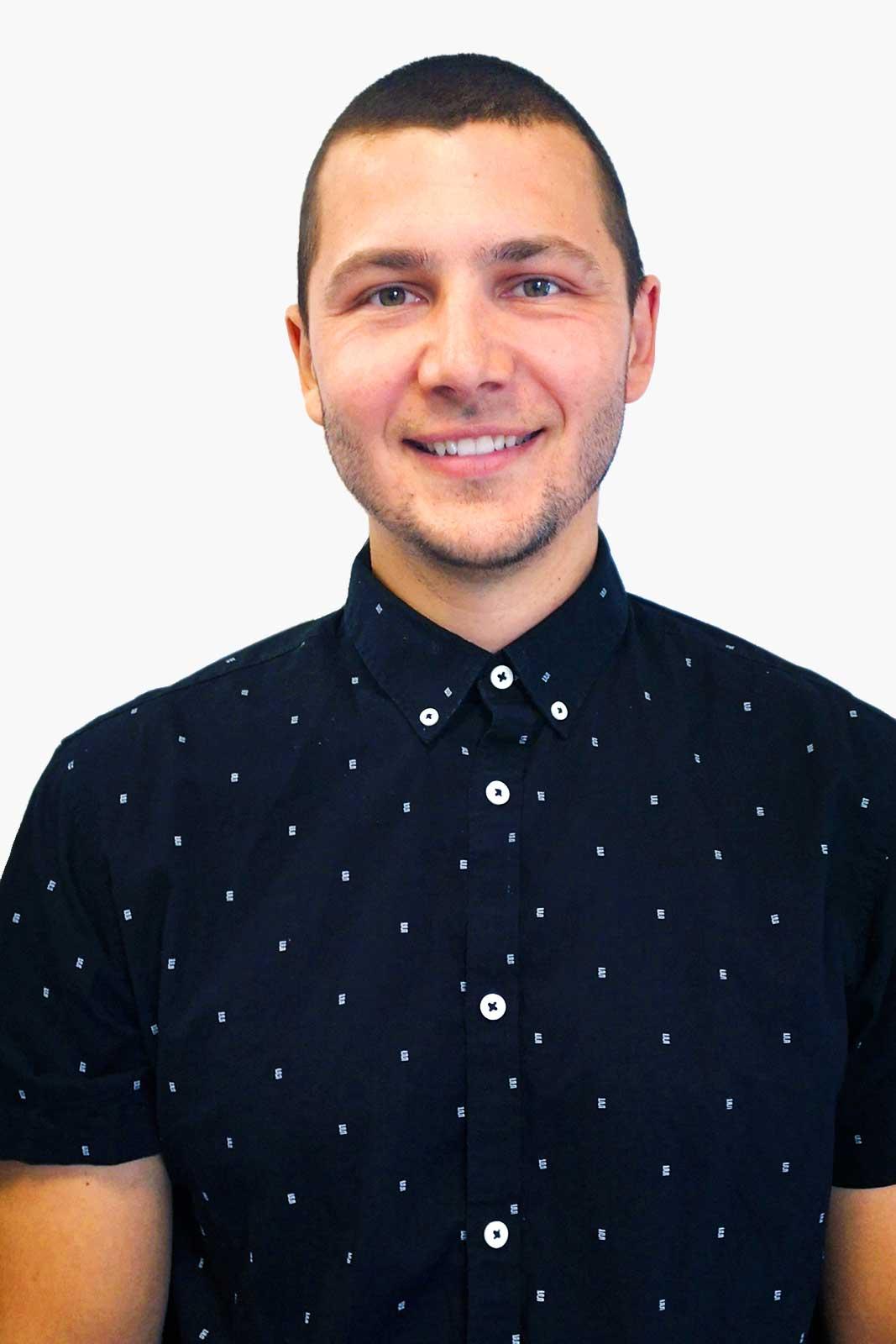 Michael Guillemette, Chef d'équipe – production et transformation